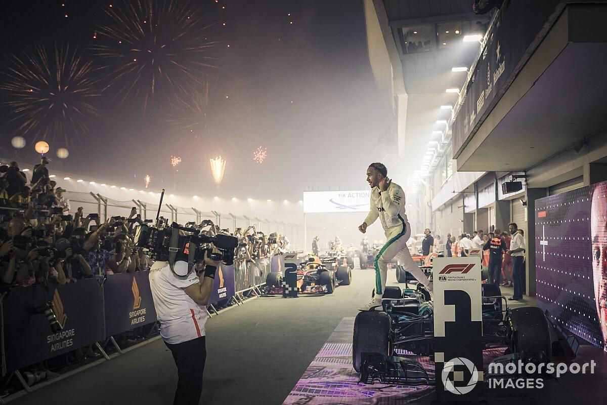 وولف: سنغافورة شهدت أحد أروع انتصاراتنا