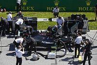 Mercedes espera solucionar sus problemas con la caja de cambios