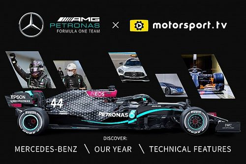Mercedes-Benz lança canal exclusivo na Motorsport.tv