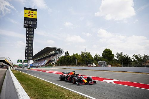 Weerbericht F1 Grand Prix van Spanje: Kans op buien tijdens race