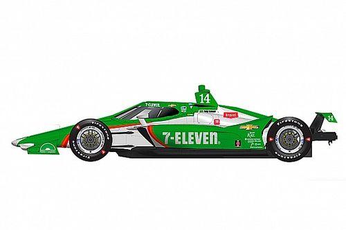 Kanaan tem reencontro com carro patrocinado pela 7-Eleven no Texas