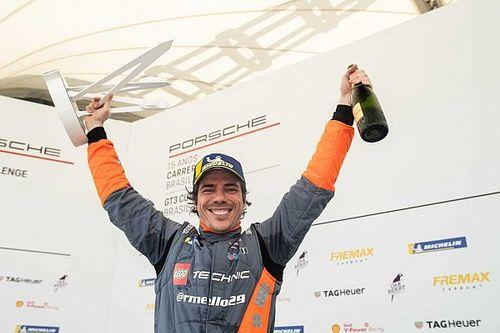Vivendo o sonho: Rodrigo Mello se torna bicampeão da Porsche Cup