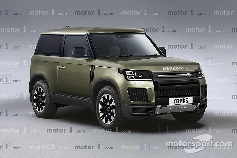 Новий Land Rover Defender з'явився на ексклюзивному рендері