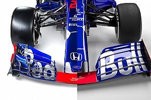 La comparación de todos los F1 de 2019 frente a los de 2018