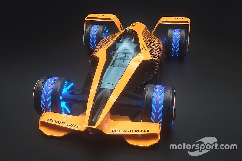 Fotos: las distintas versiones de los Fórmula 1 del futuro