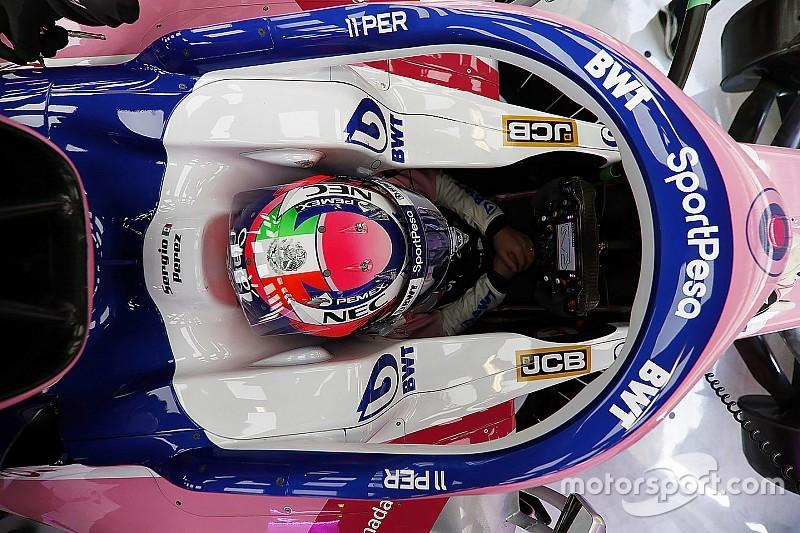 Перес представив дизайн свого шолома для сезону Ф1 2019 року