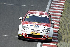 BTCC Breaking news Cook announces Triple Eight MG exit