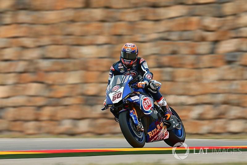 Aragon'da Rossi'nin yerine Van der Mark yarışacak