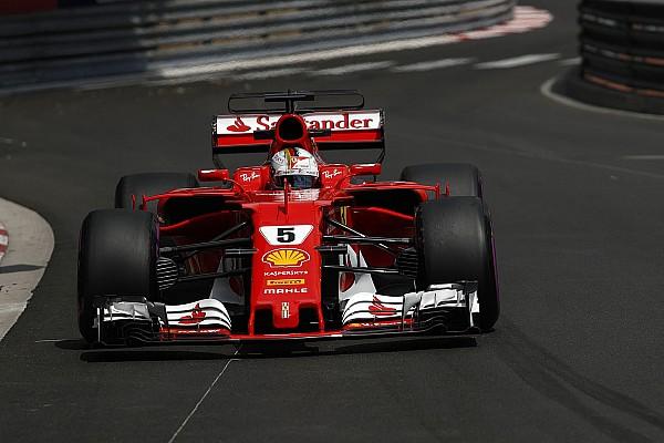 Formula 1 Son dakika Monaco GP 2.antrenman: Vettel gaza bastı, Mercedes'ler geride kaldı
