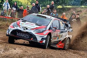 WRC Ultime notizie Toyota in Finlandia con importanti novità di software e motore