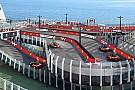 Auto Un navire avec une piste de karting Ferrari !