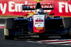 GP3 Raceverslag GP3 Hungaroring: Alesi leidt Trident 1-2-3-4 in race 2