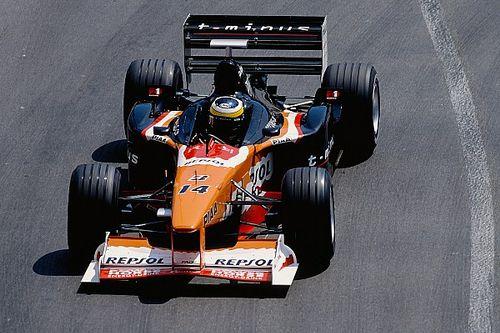 F1の奇妙なスポンサー1:アロウズに混乱をもたらした謎のブランド『t-minus』