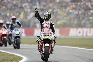 MotoGP Réactions Crutchlow manque le podium pour une poignée de centièmes