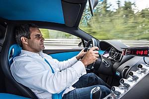 Automotive Nieuws Video: Hoe Montoya met de Bugatti Chiron naar de 400 km/u knalt