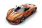 Auto Koenigsegg dévoile une Regera Sweet Mandarine