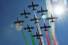 A rendkívül látványos monzai repülő-show