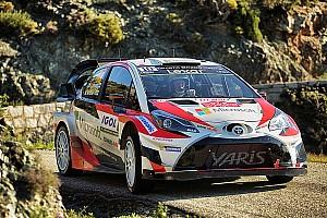 WRC Ultime notizie Toyota porta novità in Portogallo per migliorare la Yaris sullo sterrato