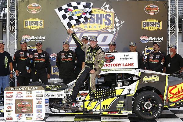 NASCAR Breaking news Patrick Emerling makes first NASCAR win memorable at Bristol