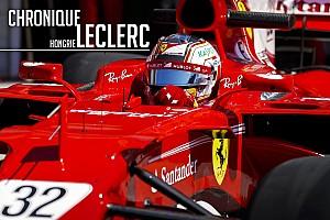 FIA F2 Contenu spécial Chronique Leclerc - D'une disqualification à un test de rêve en F1