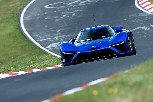 Nio EP9 shatters Lamborghini's Nordschleife lap record