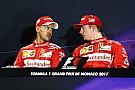F1 Vettel entiende el malestar de Raikkonen, pero niega las órdenes