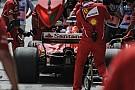 Формула 1 Анализ: почему Ferrari плохо проводит пит-стопы