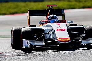 GP3 Reporte de pruebas Marcos Siebert fue sexto en los test de GP3 en Valencia