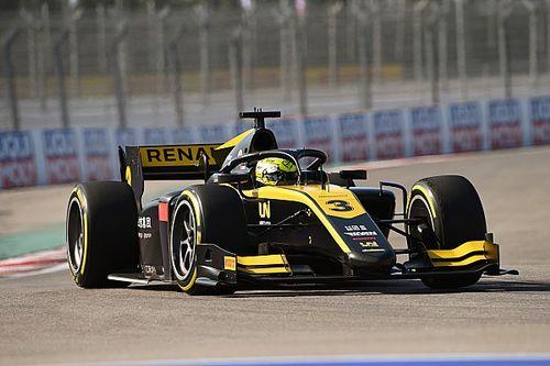 VIDEO: Zhou gana tras un gran accidente en la Fórmula 2