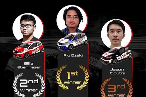 Honda Racing Simulator Championship Makin Kompetitif