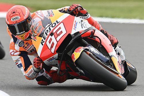 Маркес в тренировке упал на скорости в 274 км/ч