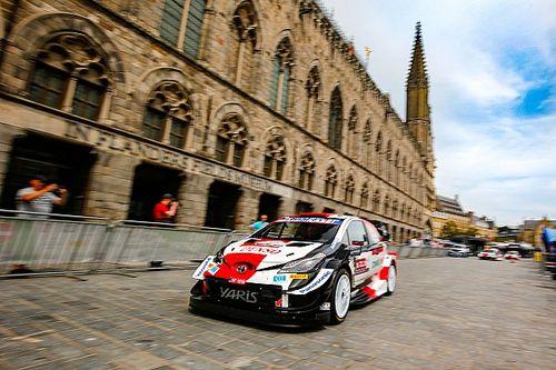 Toyota WRC ikilisi Belçika'da yüksek lastik patlama riski bekliyor