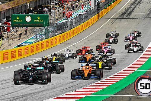 Hamilton kontrolował wyścig