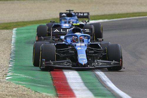 Alpine: Updates van Imola hebben 'meer effect' op andere circuits