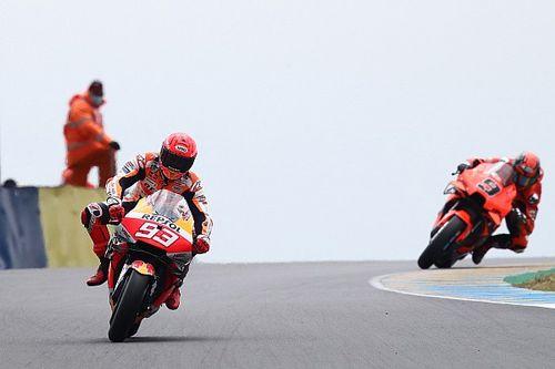 """Márquez: """"Honestamente no veo ningún piloto Honda cerca de la victoria"""""""