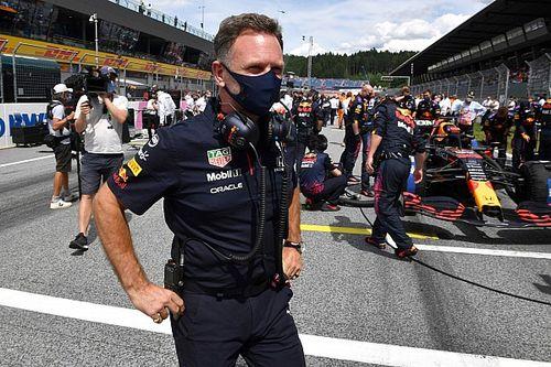 Horner maintient ses critiques sur les célébrations de Mercedes
