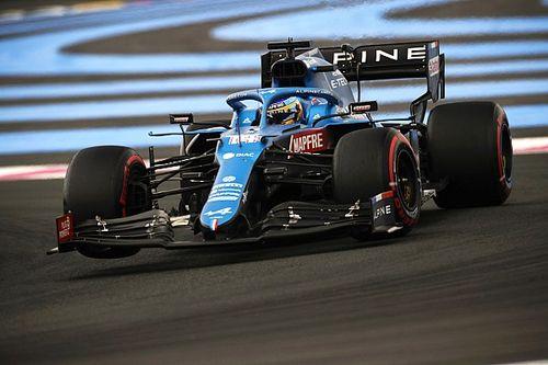 """Alonso: """"Sin graining, habría sido sexto; puedo estar contento"""""""