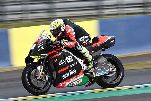 "Aleix Espargaro more ""frustrated than ever"" at Le Mans DNF"