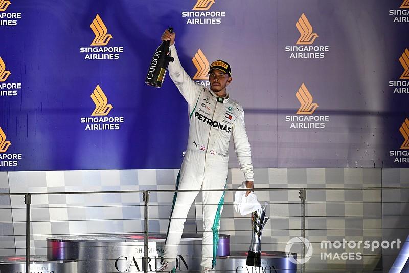 Hamilton stuzzica la Ferrari: