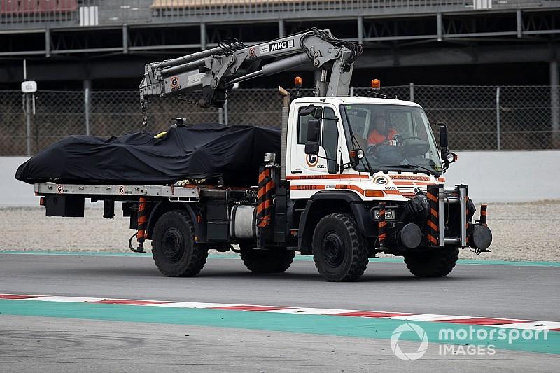 Erősen köhécsel a Haas-Ferrari, de Grosjean nem aggódik