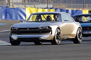 La Peugeot e-Legend a pris la piste !