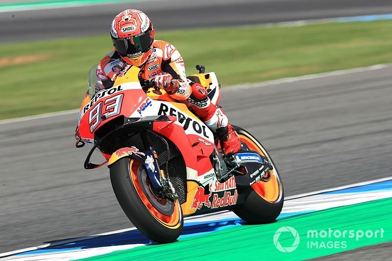 MotoGP FT3 in Thailand: Marquez muss nach Sturz in Q1 antreten