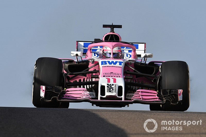 Force India had door geldproblemen één upgrade minder in 2018