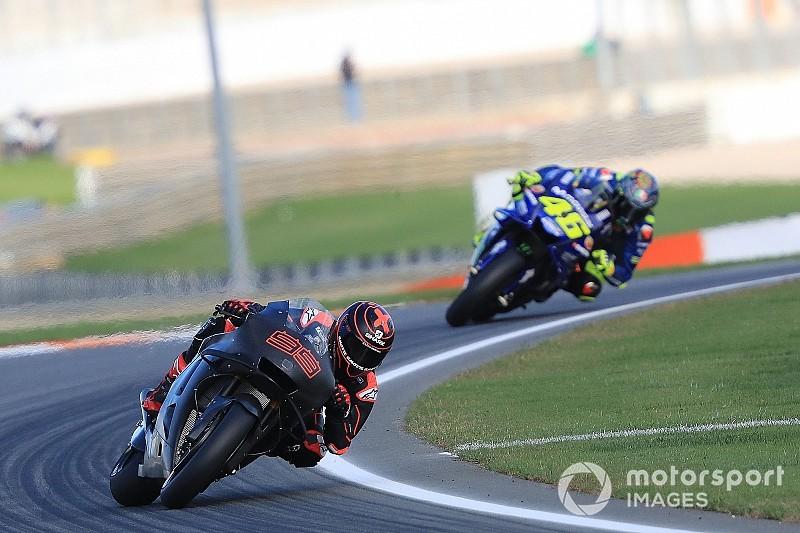 """Rossi: """"En el próximo test, Lorenzo ya estará delante con la Honda"""""""