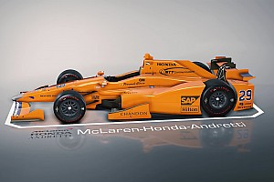 IndyCar Special feature Explore Fernando Alonso's Indy 500 car in 3D