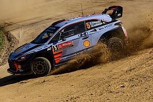 WRC Dagverslag WRC Portugal: Neuville en Ostberg delen leiding na eerste proef