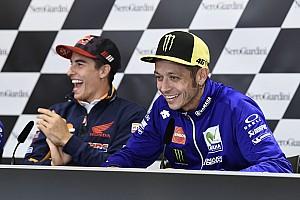 MotoGP News Marc Marquez über Valentino Rossi: