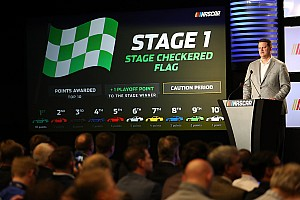 NASCAR Cup Breaking news NASCAR releases stage lengths and other race format details