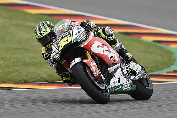 MotoGP Crutchlow en proie à des problèmes de pression en course