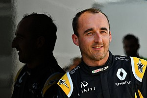 Kubica, Williams testinde spin atmış